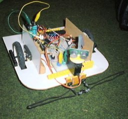 robotic platform with ultrasonic rangefinder