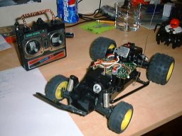 RC car ready to be hacked