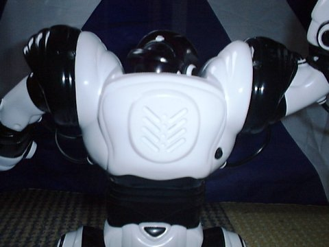 back of Robosapien