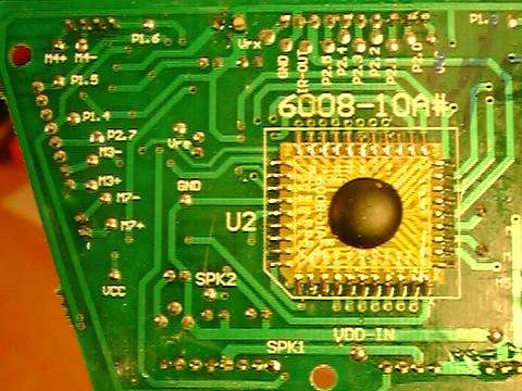 Robosapien's control board